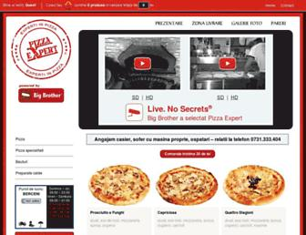 pizzaexpert.ro screenshot
