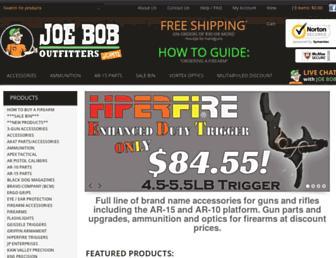 joeboboutfitters.com screenshot