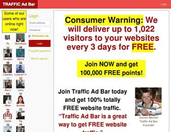 Thumbshot of Trafficadbar.com
