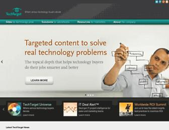 Thumbshot of Techtarget.com