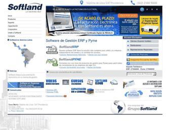 softland.cl screenshot