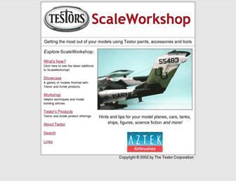 scaleworkshop.com screenshot