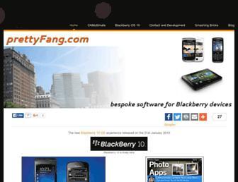 prettyfang.com screenshot