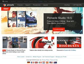 pinnaclesys.com screenshot