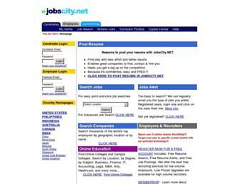 jobscity.net screenshot