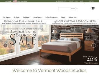 Thumbshot of Vermontwoodsstudios.com