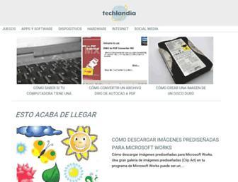 techlandia.com screenshot