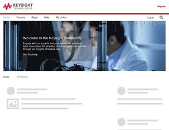 community.keysight.com screenshot