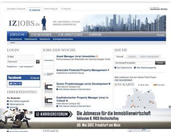 Thumbshot of Iz-jobs.de