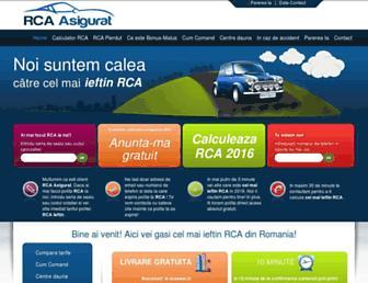 rca-asigurat.ro screenshot
