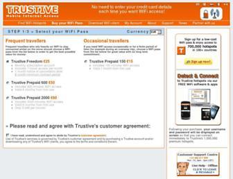 secure.trustive.com screenshot