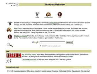 Thumbshot of Manuelsweb.com