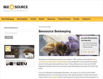 Thumbshot of Beesource.com