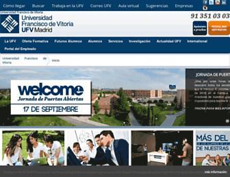 ufv.es screenshot