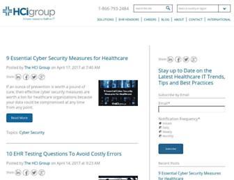 blog.thehcigroup.com screenshot