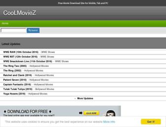 mycoolmoviez.net screenshot