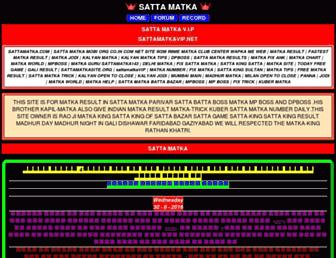 sattamatkavip.net screenshot
