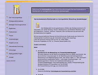 heroinstudie.de screenshot