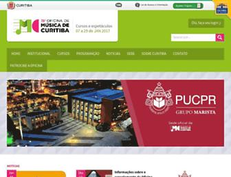 oficinademusica.org.br screenshot