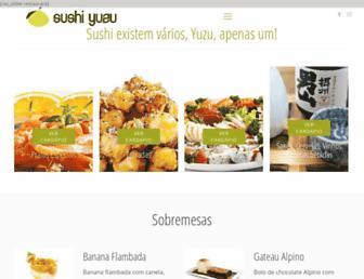 sushiyuzu.com.br screenshot