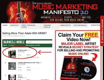 musicmarketingmanifesto.com screenshot