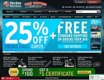 Thumbshot of Hockeymonkey.com