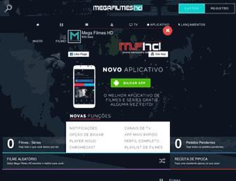 megahfilmeshd.net screenshot