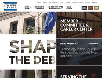 nycbar.org screenshot