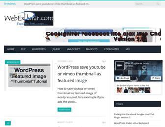 Thumbshot of Webexplorar.com