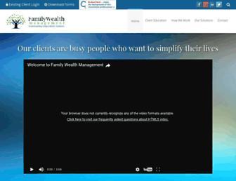 familywealthadvisory.com screenshot