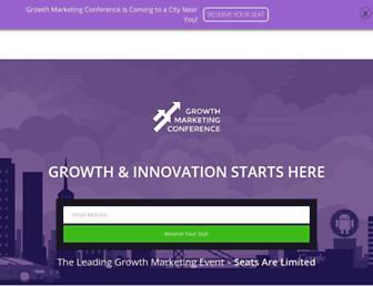 growthmarketingconf.com screenshot