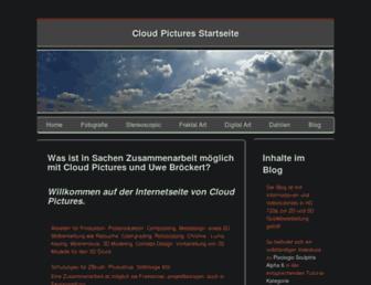 cloudpictures.de screenshot