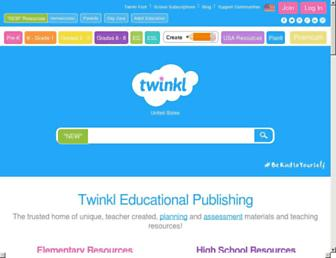 Thumbshot of Twinkl.co.uk