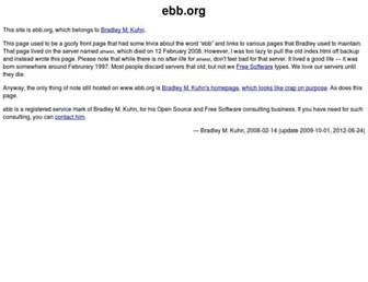 ebb.org screenshot