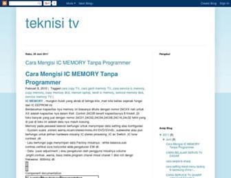 teknisitv.blogspot.com screenshot