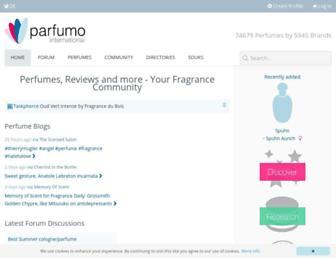 parfumo.net screenshot