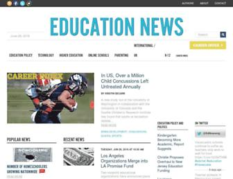 Thumbshot of Educationnews.org