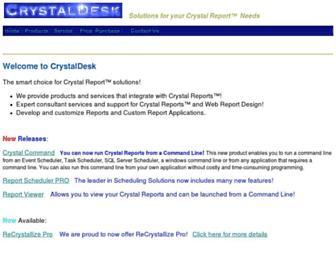 crystaldesk.com screenshot