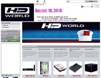hdworld.biz screenshot