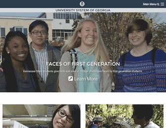 usg.edu screenshot