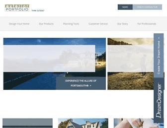 exteriorportfolio.com screenshot