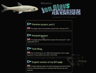 jonolavsakvarium.com screenshot
