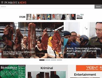 poskotanews.com screenshot