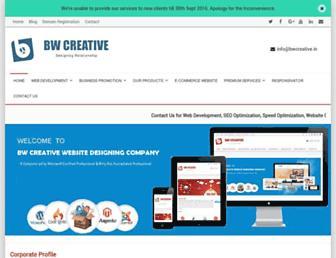 bwcreativepanipat.com screenshot