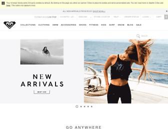Thumbshot of Roxy.com