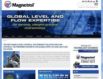 us.magnetrol.com screenshot