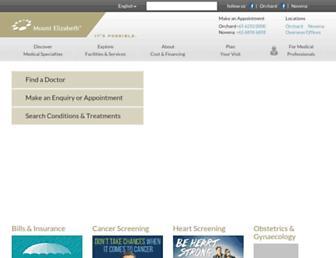 mountelizabeth.com.sg screenshot