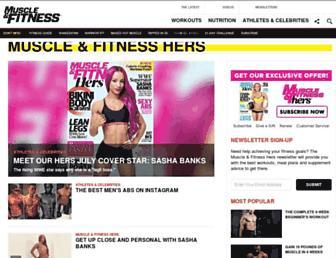 Thumbshot of Muscleandfitnesshers.com
