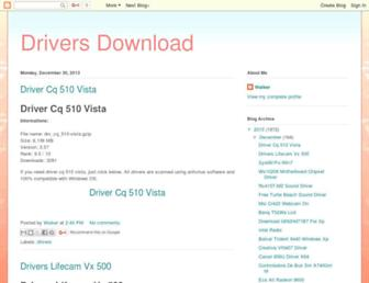 driversdownload0.blogspot.com screenshot