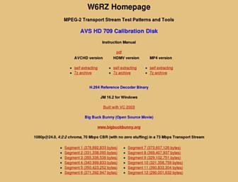 w6rz.net screenshot